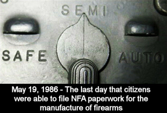 The 1986 Firearm Owner's Protection Act