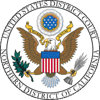 Small version of the Seal of the US District Court, Northern District of California