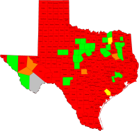 Texas' Growing Second Amendment Sanctuary Movement Current Map