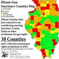 The Illinois Gun Sanctuary Counties Map Grows Again