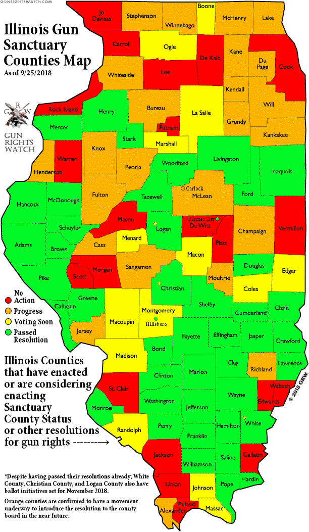 Gun Rights Watch Pike County Il Passes Gun Owner Sanctuary County