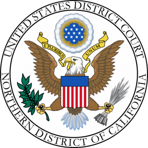US District Court, Northern District of California - corrected seal image