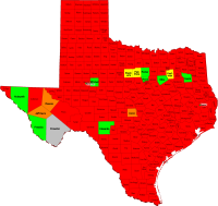 Texas Second Amendment Sanctuary Counties and Cities