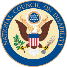 Seal of the National Council on Disability