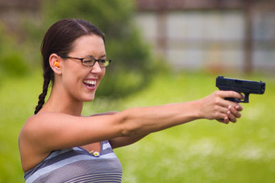 more women are getting gun licences