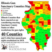40 Gun Sanctuary Counties in Illinois?
